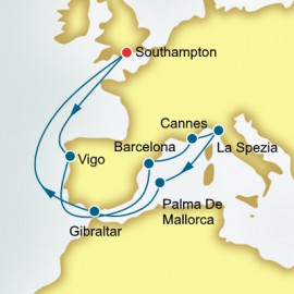 Spain France and Italy Itinerary