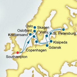 Scandinavia Poland and Russia Itinerary