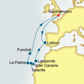 Canary Islands Christmas and New Year P&O Cruises UK Cruise
