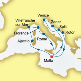 Croatia Italy and Montenegro  Itinerary