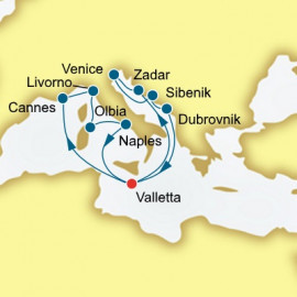 Croatia Italy and Malta P&O Cruises UK Cruise