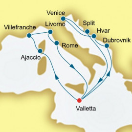 Croatia France and Italy P&O Cruises UK Cruise