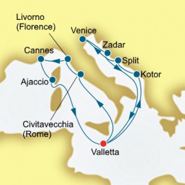 Croatia Italy and Montenegro P&O Cruises UK Cruise