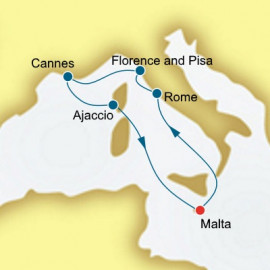 Italy and France P&O Cruises UK Cruise