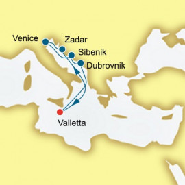 Croatia and Italy P&O Cruises UK Cruise