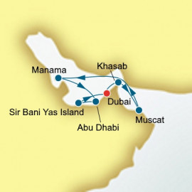 Dubai and Arabian Gulf Itinerary