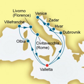 Italy Adventure P&O Cruises UK Cruise