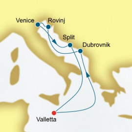 Croatia P&O Cruises UK Cruise