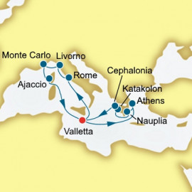 Greece and Italy P&O Cruises UK Cruise