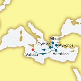Greece P&O Cruises UK Cruise