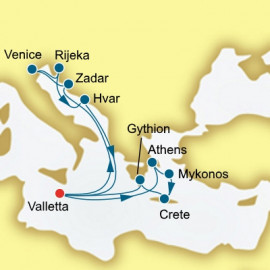 Croatia and Greece P&O Cruises UK Cruise