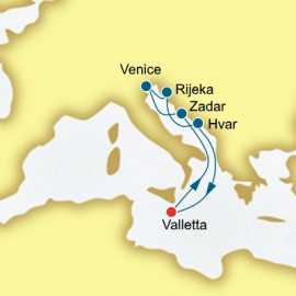 Italy and Croatia P&O Cruises UK Cruise