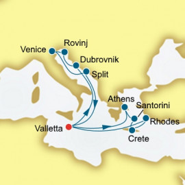 Greece and Croatia P&O Cruises UK Cruise