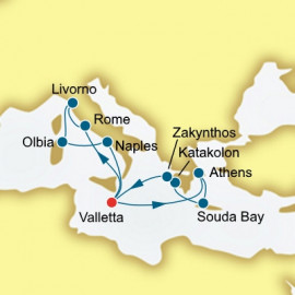 Italy and Greece P&O Cruises UK Cruise