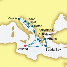Greece and Croatia Itinerary