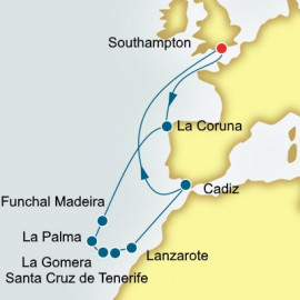 Canary Islands and Madeira Itinerary