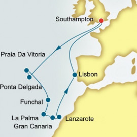 Azores Canary Islands and Portugal Itinerary