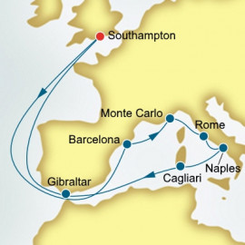 Spain and Monaco and Italy Itinerary