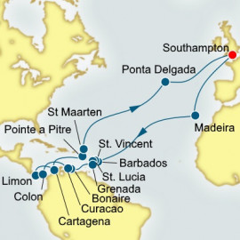 Caribbean and Central America P&O Cruises UK Cruise