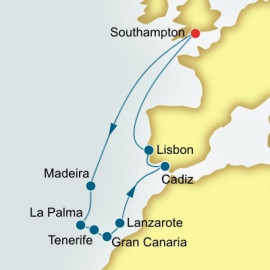 Spain Portugal and Canary Islands P&O Cruises UK Cruise