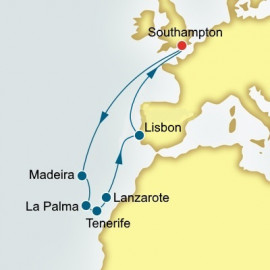 Canary Islands Madeira and Spain Itinerary