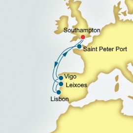 Spain Portugal and Guernsey P&O Cruises UK Cruise