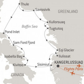 Baffin Bay Secrets Itinerary