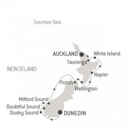 The Best of New Zealand Ponant Cruise