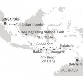 Explore Indonesia Ponant Cruise