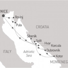 The Best of Croatia Ponant Cruise