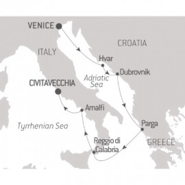 From the Adriatic to Roma Itinerary