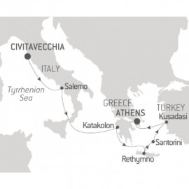 Treasures of the Mediterranean World Ponant Cruise