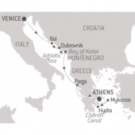 From the Canals of Venice to the Stones of Athens Itinerary