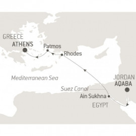 Civilisations and Mythologies Ponant Cruise
