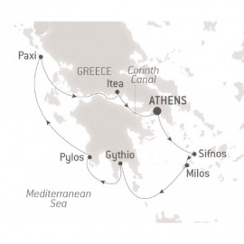 Treasures of the Peloponnese  Ponant Cruise