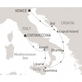 Shores of the Adriatic and Italy Ponant Cruise