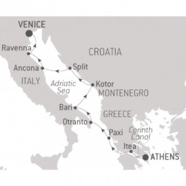 Cultural Jewels of the Adriatic Ponant Cruise