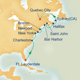 Canada and Colonial America Princess Cruises Cruise