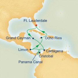 Panama Canal with Costa Rica and Caribbean Princess Cruises Cruise