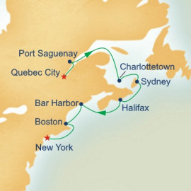 Classic Canada and New England Princess Cruises Cruise