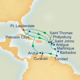 Circle Caribbean Adventurer Princess Cruises Cruise