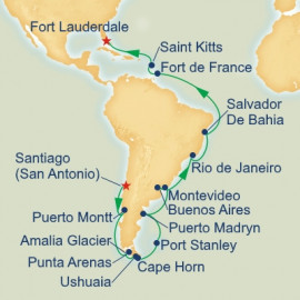 Brazilian and Cape Horn Grand Adventure Princess Cruises Cruise