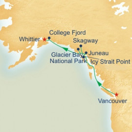 Voyage of the Glaciers with Glacier Bay Princess Cruises Cruise