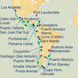 Panama Canal Andes and Cape Horn Princess Cruises Cruise