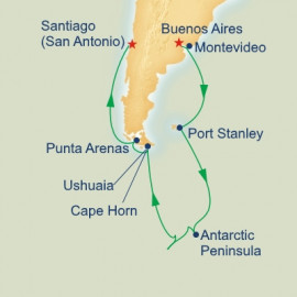 Antarctica and Cape Horn Princess Cruises Cruise