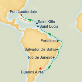 Brazilian Adventure Itinerary