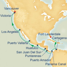 Panama Canal and Pacific Coast Princess Cruises Cruise