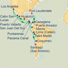 Panama Canal and Andes Grand Adventure Itinerary
