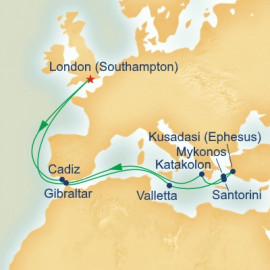 Mediterranean and Greek Isles Princess Cruises Cruise