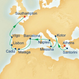Grand European Explorer Itinerary